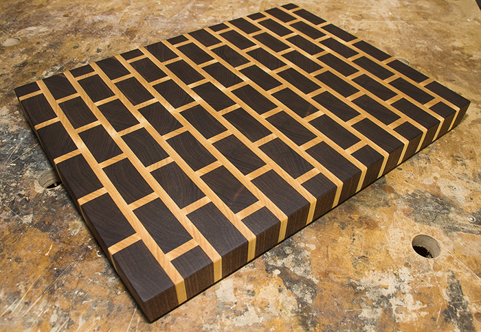 brick cutting board talk garage blog
