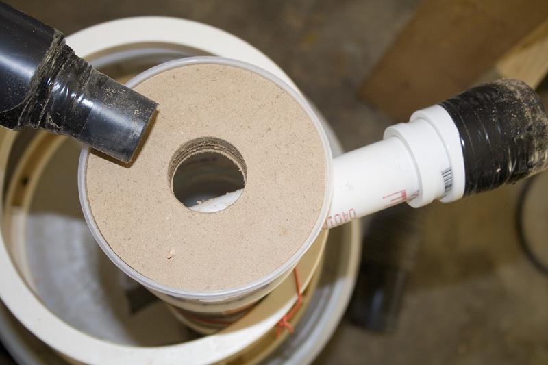 DIY Cyclone Dust Collector « Garage Blog